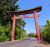 Traditionele Herdenkingsboog in Taiwan Royalty-vrije Stock Foto's