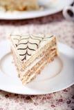 Traditionele Hongaarse Esterhazy-cake Royalty-vrije Stock Foto's