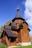 Traditionele houten kerk Stock Afbeelding