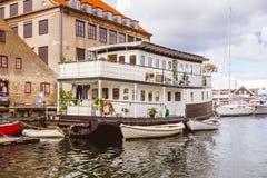 Traditionele huisboot Royalty-vrije Stock Fotografie