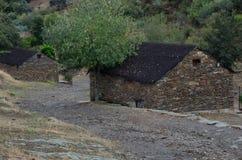 Traditionele hutten in Villareal DE San Carlos royalty-vrije stock afbeeldingen