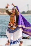 Traditionele Indische dans Stock Foto