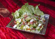 Traditionele Indische salade stock fotografie