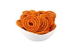Traditionele Indische snack Stock Afbeeldingen