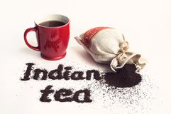 Traditionele Indische thee royalty-vrije stock foto