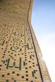 Traditionele Islamitische ornamentdetails Oezbekistaanse Architectuur Details van oude muren van de bouw met met de hand gemaakte royalty-vrije stock foto
