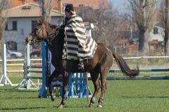 De dag van Theodore (Paard Pasen) Stock Afbeelding