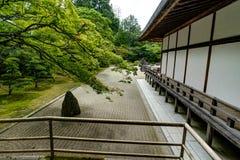 Traditionele Japanse de Woningbouwtempel van de Kongobujitempel met royalty-vrije stock fotografie