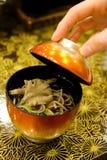 Traditionele Japanse Noedels Ramen Stock Afbeelding