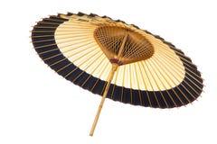 Traditionele Japanse paraplu †‹â€ ‹van bamboe en document Stock Foto