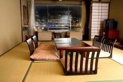 Traditionele Japanse ruimte Stock Foto