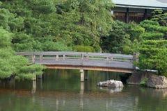 Traditionele Japanse Tuin, Kyoto Stock Fotografie