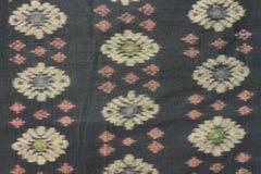 Traditionele kain endek van Bali Royalty-vrije Stock Foto