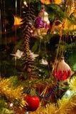 Traditionele Kerstboom Royalty-vrije Stock Foto