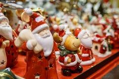 Traditionele Kerstmismarkt Royalty-vrije Stock Afbeelding