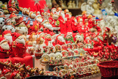 Traditionele Kerstmismarkt Royalty-vrije Stock Fotografie