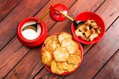 Traditionele keuken stock foto