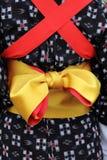 Traditionele kimono Royalty-vrije Stock Afbeeldingen