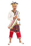 Traditionele kleding van Papoea Royalty-vrije Stock Foto