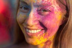Traditionele kleurenviering Royalty-vrije Stock Foto's