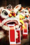 Traditionele kleurrijke Chinese leeuw Royalty-vrije Stock Fotografie