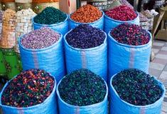 Traditionele kruidenmarkt royalty-vrije stock afbeelding