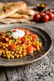 """Traditionele kruidige kekers van Channa Masala †de """" Stock Afbeeldingen"""