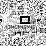 Traditionele kunstachtergrond vector illustratie