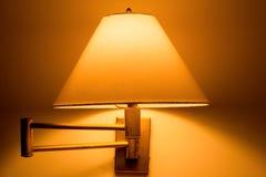 Traditionele lamp op de muur Royalty-vrije Stock Fotografie