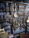 Traditionele lepels van Roemenië stock fotografie