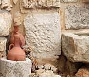 Traditionele Libanese Kruiken Royalty-vrije Stock Afbeeldingen