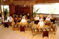 Traditionele Maleise muziek stock foto's