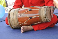 Traditionele Maleisische Gendang of Traditionele Maleisische trommel Royalty-vrije Stock Foto