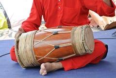 Traditionele Maleisische Gendang of Traditionele Maleisische trommel Stock Foto