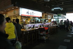 Traditionele markt stock foto