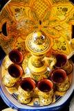 Traditionele maroccan pot Stock Afbeeldingen