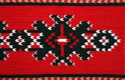 Traditionele materialen en Bulgaars borduurwerk royalty-vrije stock afbeelding