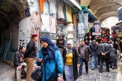 Traditionele Medina-Markt in Tunis, Tunesië royalty-vrije stock afbeeldingen