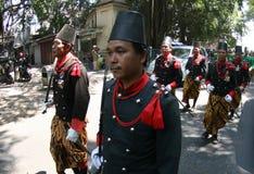 Traditionele militairen Royalty-vrije Stock Foto's