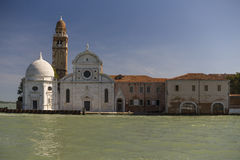 Traditionele Monumentale Gebouwen in Venetië, Italië Royalty-vrije Stock Foto's