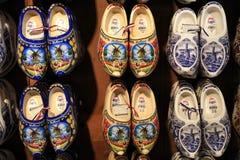 Traditionele Nederlandse schoenen Stock Afbeeldingen