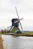 Traditionele Nederlandse windmolen Royalty-vrije Stock Foto's