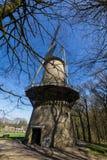 Traditionele Nederlandse Windmolen Royalty-vrije Stock Afbeeldingen