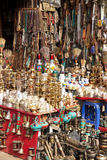 Traditionele Nepalese Trinkets Stock Foto's