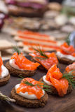 Traditionele Noorse keuken stock fotografie