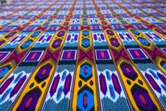 Traditionele Oezbekistaanse textiel stock illustratie