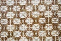 Traditionele overladen Portugese decoratieve tegels royalty-vrije stock afbeelding