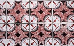 Traditionele overladen Portugese decoratieve tegels royalty-vrije stock foto