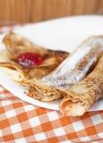 Traditionele pannekoek Royalty-vrije Stock Foto's