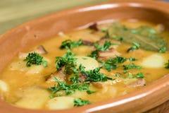 Traditionele Poolse gebakken keuken - beanss Stock Afbeelding